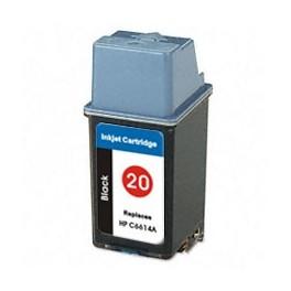Cartridge  kompatibilní s HP C6614DE černá