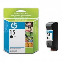 HP 15 Cartridge černá C6615DE (č.15 velká) - originál
