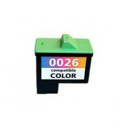 Cartridge č.26 pro Lexmark barevná (10N0026) - kompatibilní