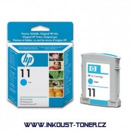 Cartridge HP 11 - azurová , C4836A originální
