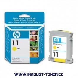 Cartridge HP 11 - žlutá, C4838A originální