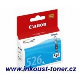 Canon CLI-526C cartridge modrá (azurová) - originál