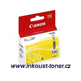 Canon CLI-526Y cartridge žlutá - originál