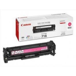 Canon toner CRG-718M, červený (purpurový), originál