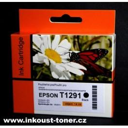 cartridge EPSON T1291 černá - kompatibilní