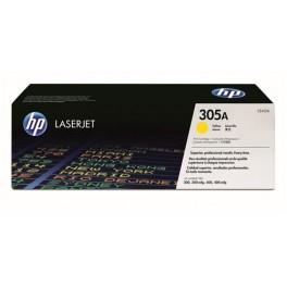 HP toner CE412A (HP 305A) žlutý, originál
