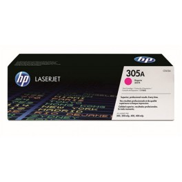 HP toner CE413A (HP 305A) purpurový (červený), originál
