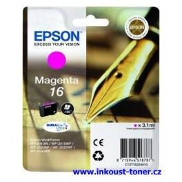 cartridge EPSON T1623 červená (MAGENTA) - originál