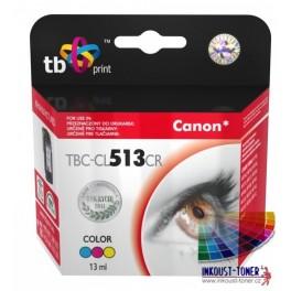 Cartridge barevná CL-513 pro Canon, kompatibilní, 13 ml
