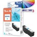 cartridge EPSON T2632 (26XL) azurová - kompatibilní PEACH, 16 ml