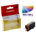 Canon CLI-521Y cartridge žlutá - originální