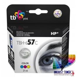 cartridge HP C6657AE (HP č.57) barevná - kompatibilní