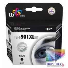 HP901XL (CC654AE) černá - kompatibilní