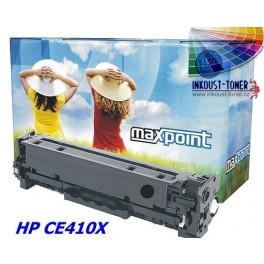 Toner kompatibilní s HP CE410X černý (4000 stran)