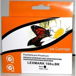 Cartridge kompatibilní s Lexmark 100XL černá velká (14N1068E)