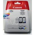 Canon sada kazet PG-545 / CL-546 Multi pack – originální