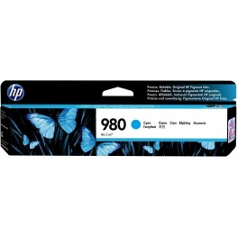 HP 980 azurová cartridge, D8J07A originál
