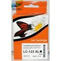 cartridge Brother LC-127, LC-123 XL černá kompatibilní