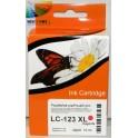 cartridge Brother LC-125, LC-123 XL červená kompatibilní