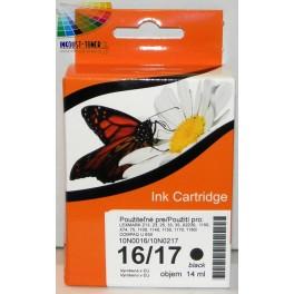 Cartridge č.16 pro Lexmark černá (10N0016) - kompatibilní