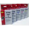 sada kazet PGI-520BK a CLI-521B,C,M,Y pro Canon - celkem 5 kazet - AKCE (AB)