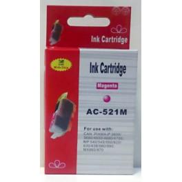 Canon CLI-521M cartridge červená - kompatibilní