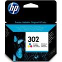 HP 302 Cartridge barevná, F6U65AE - originál