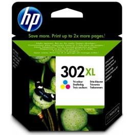 HP 302XL Cartridge barevná, F6U67AE - originál -velká