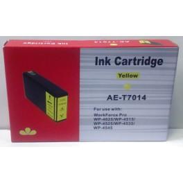 cartridge EPSON T7014 žlutá XXL - kompatibilní - pro 3400 stran
