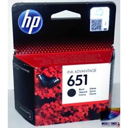 HP 651 Cartridge černá C2P10AE - originál