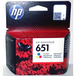 HP 651 Cartridge barevná C2P11AE - originál