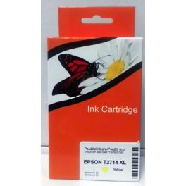 cartridge Epson T2714 (27 XL) kompatibilní žlutá (AB)