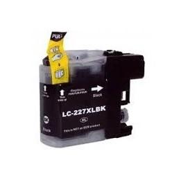 cartridge BROTHER LC-227BK černá - kompatibilní