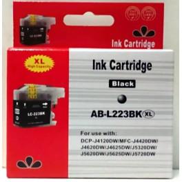 cartridge BROTHER LC-223BK černá - kompatibilní