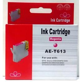 cartridge T0613 červená pro Epson - kompatibilní