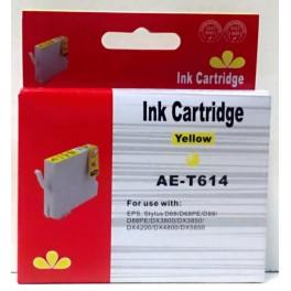 náplň T0614 žlutá pro Epson - kompatibilní