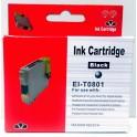 Cartridge Epson T0801 černá Pigment - kompatibilní