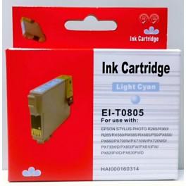 Cartridge Epson T0805 modrá foto Pigment - kompatibilní