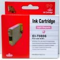 Cartridge Epson T0806 červená foto Pigment - kompatibilní