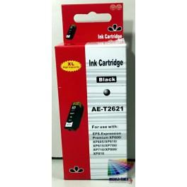 cartridge EPSON T2621 (26XL) černá - kompatibilní AB