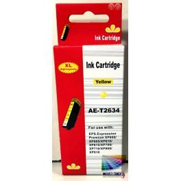 cartridge EPSON T2634 (26XL) žlutá - kompatibilní AB