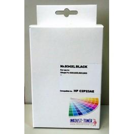 HP 934XL (C2P23) - černá, kompatibilní