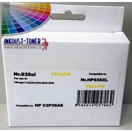 HP 935XL (C2P26) - žlutá, kompatibilní