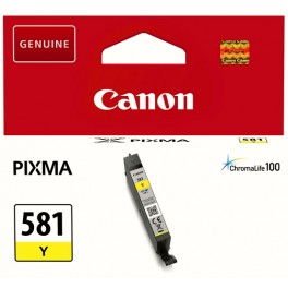 Canon CLI-581 Y žlutá - originální