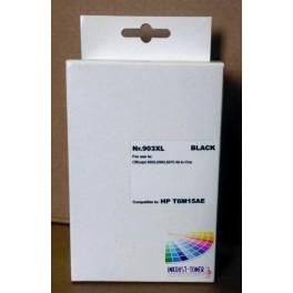 HP 903XL černá, T6M15AE - kompatibilní