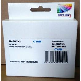 HP 903XL azurová , T6M03AE - kompatibilní